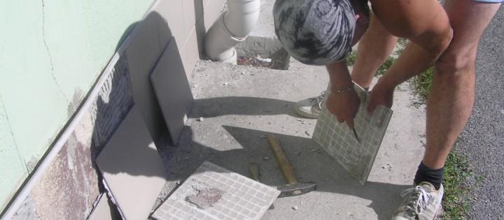 opravování fasád