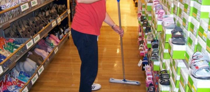 generální mytí podlah