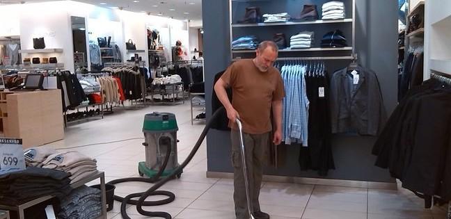 strojové generální mytí podlah